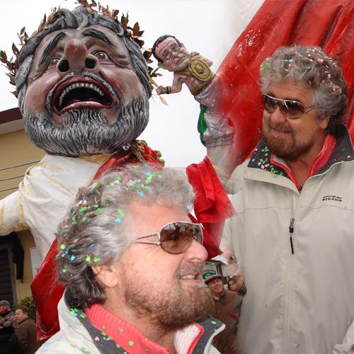 Beppe Grillo ospite a sorpresa del primo corso mascherato