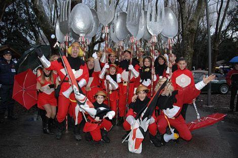 Apertura Carnevale di Viareggio 2°parte