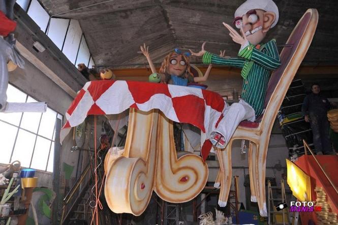 In esclusiva alcuni scatti dei carri del Carnevale Pietrasantino