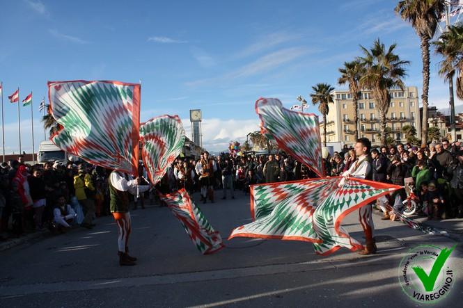 Apertura Carnevale di Viareggio 2015 (1° parte)
