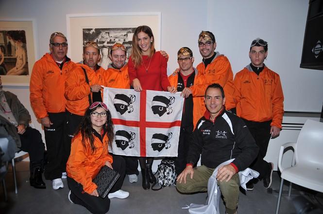 Tutti gli ospiti del primo corso mascherato