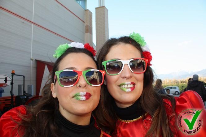 A Viareggio, il martedì grasso è in diretta Rai! (2° parte)