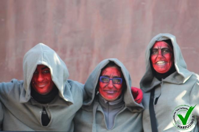 Tantissima gente per il quarto corso mascherato (1 parte)