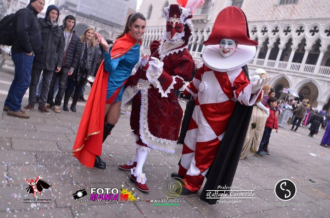Burlamacco e Ondina al Carnevale di Venezia