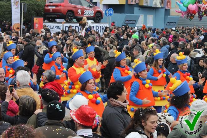 50mila persone per il corso del martedì grasso