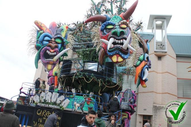 Carnevale 2017: escono i carri dalla cittadella